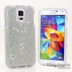 Swarovski Samsung S5 bling phone case
